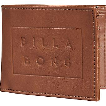 Billabong Die Cut Leather Wallet
