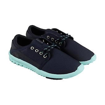 Etnies Scout  Womens Blue Textile Casual Lace Up Sneakers Shoes