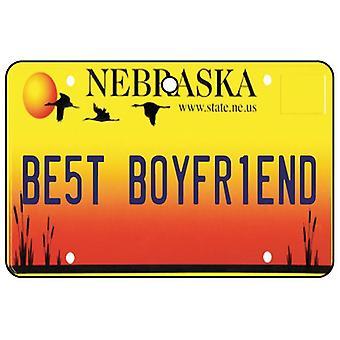 Nebraska - beste vriendje kenteken auto luchtverfrisser