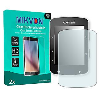 Garmin Edge 520 Screen Protector - Mikvon Clear (Retail-Paket mit Zubehör)