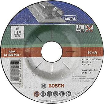 Cutting disc with depressed centre, metal Bosch Accessories 2609256310 Diameter 115