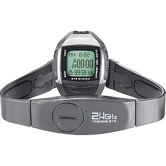 GPS heart rate monitor watch with chest strap Multi NAV-3