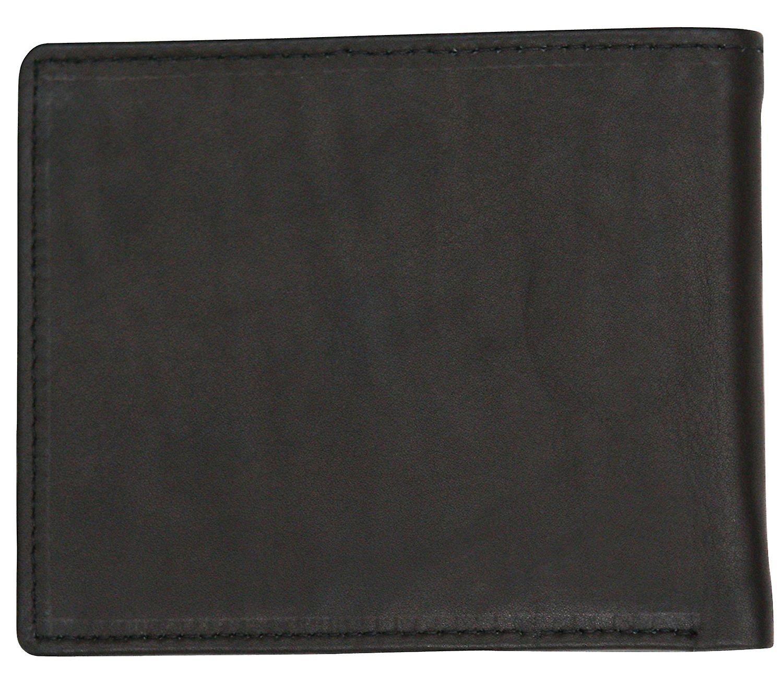 Felda Genuine Soft Leather Mens Bi Fold Wallet Credit Card Slots Presentation Gift Box