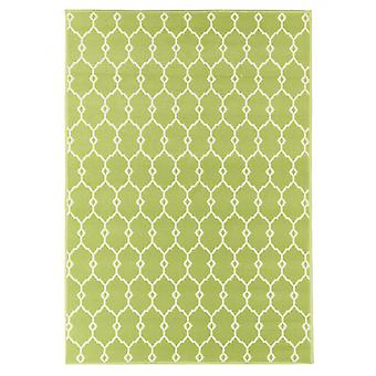 In- en outdoor carpet balkon / huiskamer van vitaminic Trelly green 133 x 190 cm
