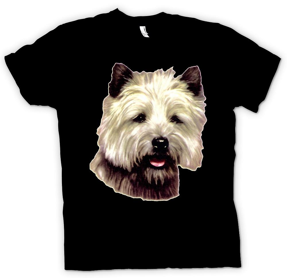 Herr T-shirt - Cairn Terrier Pet - hund