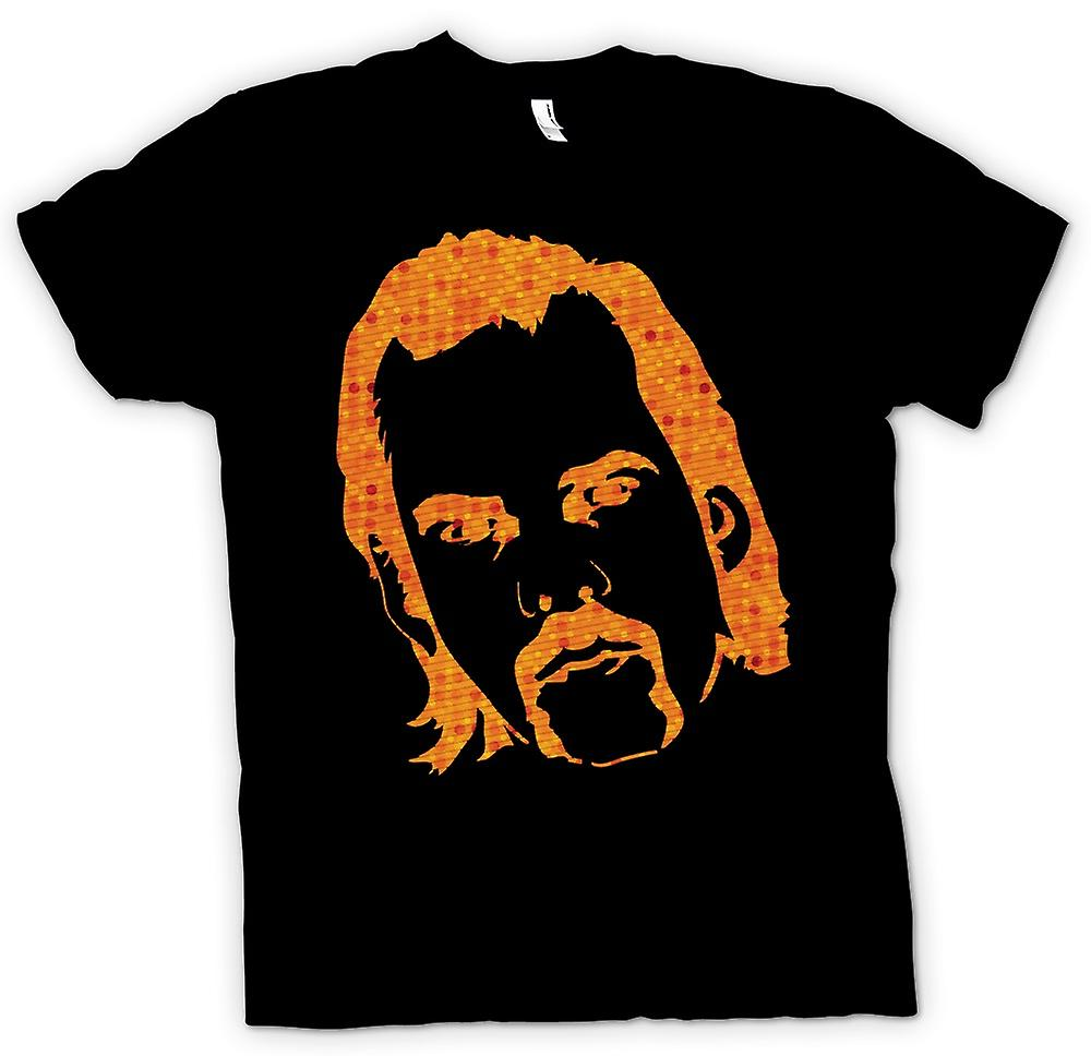 Kids T-shirt-Nick Cave portret