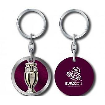 Euro 2012 Schlüsselring Runde