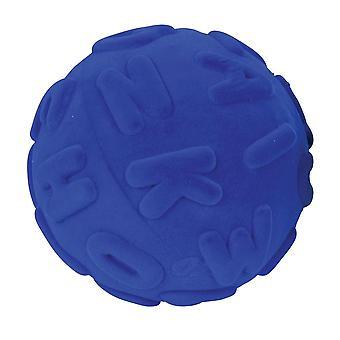 Rubbabu Alphalearn bolden store bogstaver (blå)
