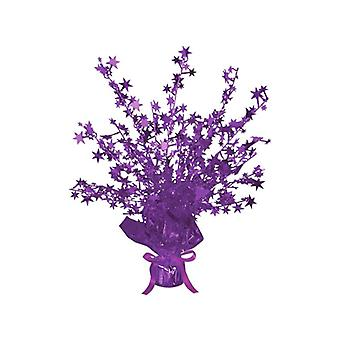 Destello de estrella n ' Burst central púrpura (cantidad 1)