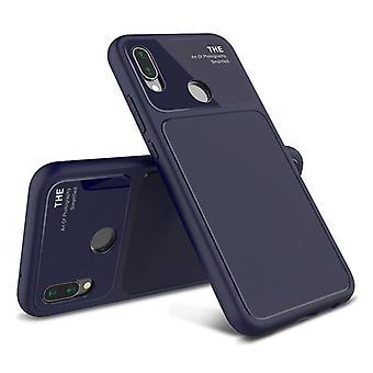Design  Cover Blau für Huawei P20 Lite TPU Silikon  Schutzhülle Cover Etui Tasche Hülle Neu Case