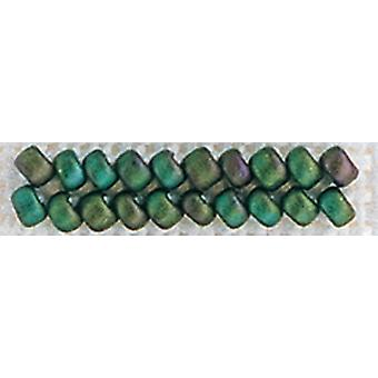 Mill Hill Antique Glass Seed Beads 2.5mm 2.63g-Autumn Green