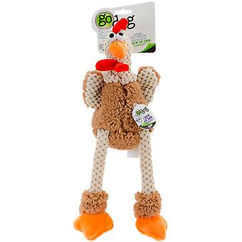 goDog Checkers with Chew Guard Small-Skinny Rooster