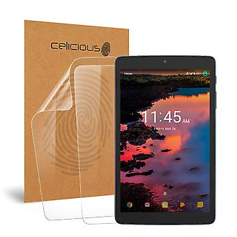 Celicious Vivid Invisible Screen Protector for Alcatel A30 Tablet [Pack of 2]