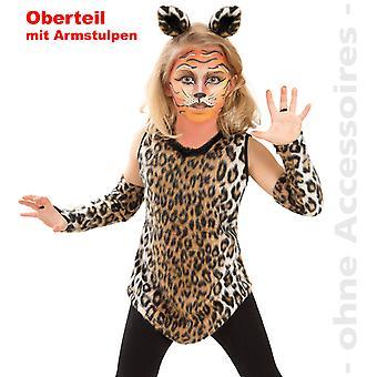 Кошка Костюм гепарда Leopard кошка дикая кошка детей Pussycat Чайлдс костюм