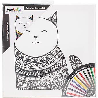 Adult Coloring Canvas 12