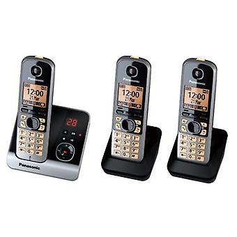 Panasonic KXTG 6723 GB trio cordless phone with 2 additional, additional Mobilte