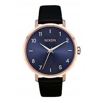 Nixon The Arrow Leather Rose Gold / Storm (A1091-3005)