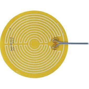 Chauffage de Polyester thermo clinquant auto-adhésif 12 v C.c., 12 V AC 14 W IP notation IPX4 (Ø) 174 mm