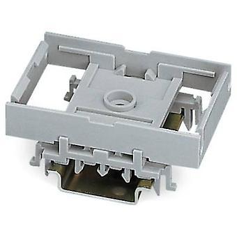 Combo mount Grey 10 pc(s) WAGO