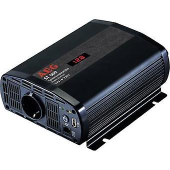 AEG ST 500 Inverter 500 W 12 Vdc - 230 V AC incl. remote control