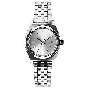 Nixon The Small Time Teller Watch - All Silver