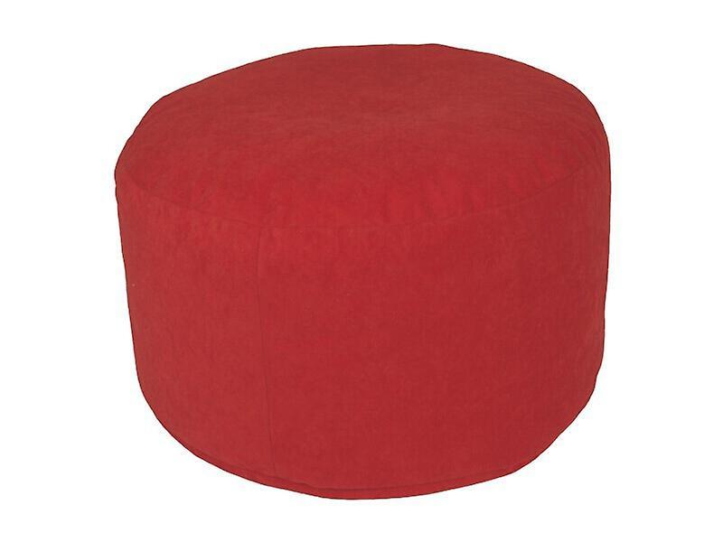 Repose Rouge Siège De 34 Cm Mikrovelour Dimensions47 Pouf X pieds Tabouret hxtsdCQrB