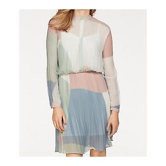 Pepe jeans airy ladies chiffon dress multicolor