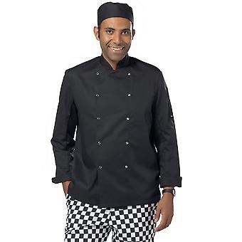 Dennys Economy Long Sleeve Chef's Jacket - DD08C