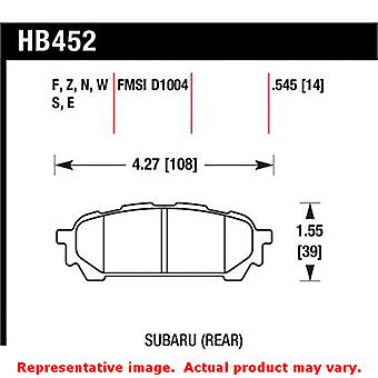 Hawk 'Performance Street' Brake Pads HB452Z.545 Fits:SAAB 2005 - 2006 9-2X  Pos
