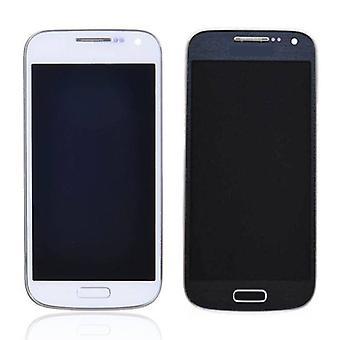 Roba certificata® Samsung Galaxy S4 Mini schermo (LCD + Touch Screen + parti) A + qualità - blu / bianco