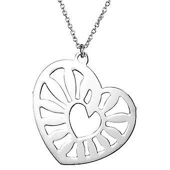 Ketting met hanger van 925 Sterling zilver sieraden, hart