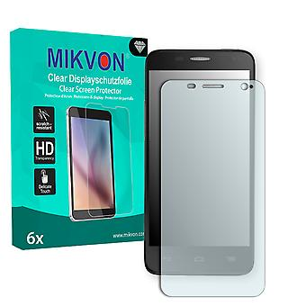 Alcatel One Touch Idol Mini 6012A Screen Protector - Mikvon Clear (Retail Package with accessories)