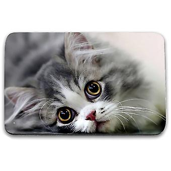 i-Tronixs - Cat Printed Design Non-Slip Rectangular Mouse Mat for Office / Home / Gaming - 4