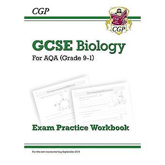 New Grade 9-1 GCSE Biology - AQA Exam Practice Workbook by CGP Books -