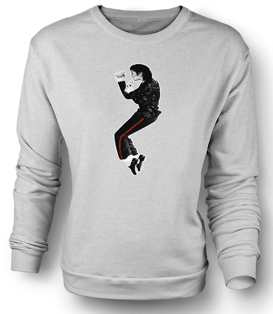 Mens Sweatshirt Michael Jackson Bad