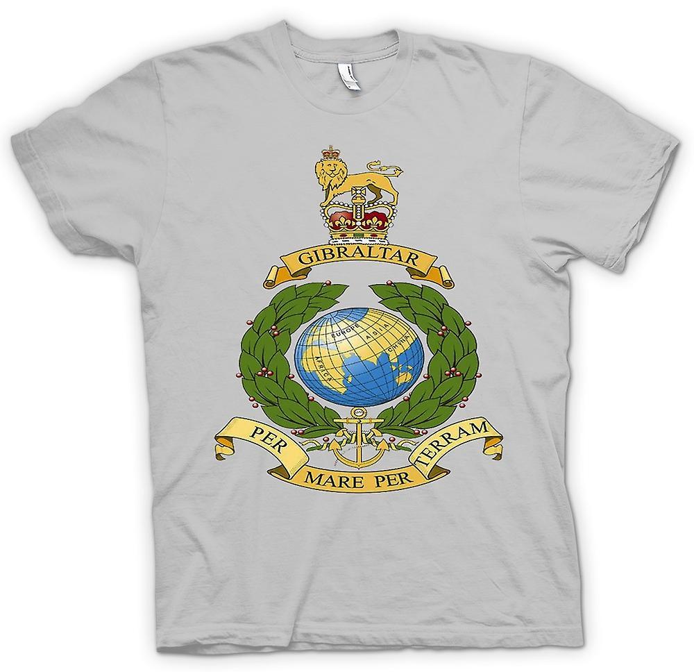 Mens t-shirt - Logo Royal Marine - Per Mare Per Terram
