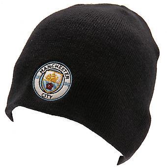 Manchester City FC Official Adults Unisex Knitted Hat