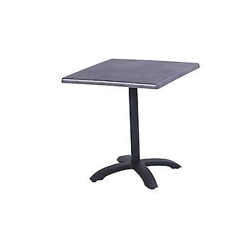 Hartman Topalit vouwbare bistrotafel 70x70xH74 cm - zwart