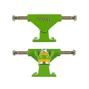 Penny Green Solid Series - 3 Inch Pair of Cruiser Trucks