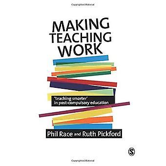 Hacer trabajo de enseñanza: Enseñanza más inteligente en la enseñanza postobligatoria