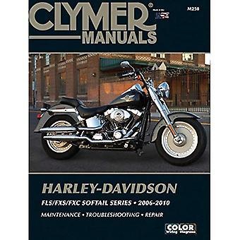 Harley Davidson FLX/FXS/FXC Softail Series - Clymer: 2006-2010 (Haynes bilreparationer manualer)