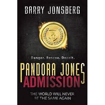 Pandora Jones: Admission (Pandora Jones 1)