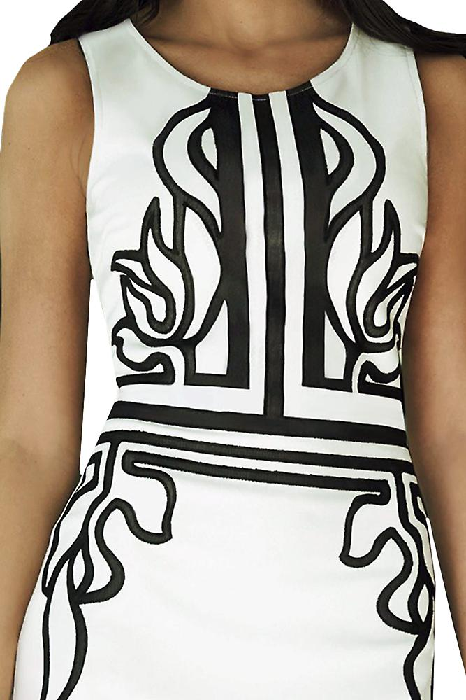 Waooh - Dress knee black pattern Vauda