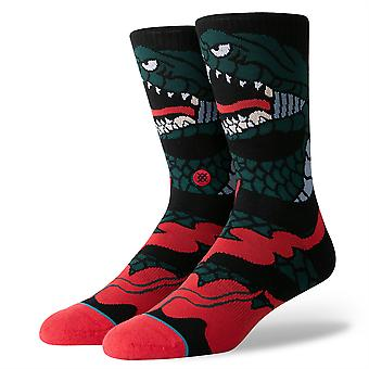 Stance Lifestyle Mens Socks ~ Permanent (size L)