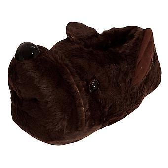 Slumberzzz Mens Dog Slippers