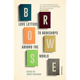 Browse: Hou van brieven aan boekhandels over de hele wereld