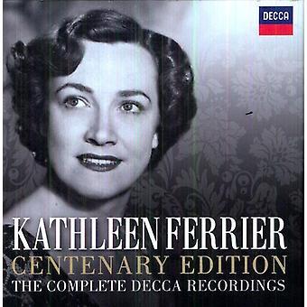 Kathleen Ferrier - jubilæet Edition: The komplet Decca optagelser [CD] USA import