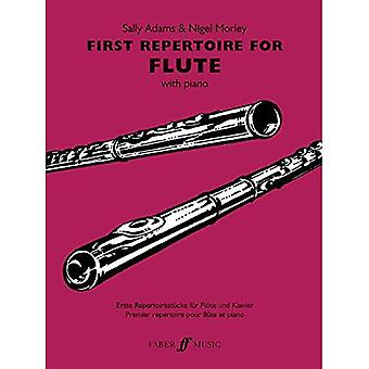 First Repertoire: (flute and Piano) (Flute Piano)