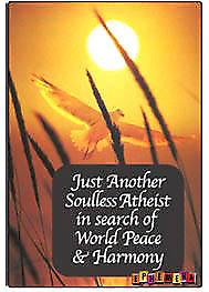 Just another soulless atheist... fridge magnet