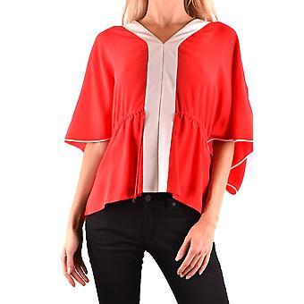Fendi Red Silk Sweater